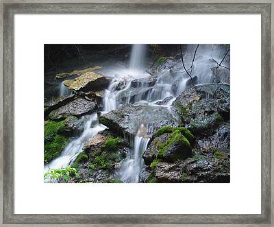 Mystic Falls IIi Framed Print by Jim Bachmeier