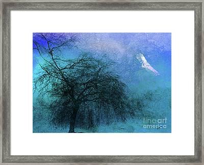 Mystic Flight Framed Print