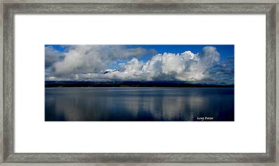 Mystic Framed Print by Greg Patzer