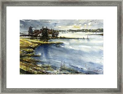 Mystic Framed Print by Judith Levins