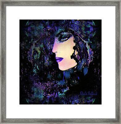 Mystic Lady Framed Print by Natalie Holland