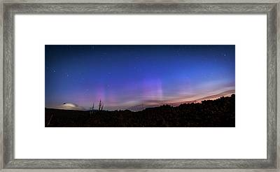 Framed Print featuring the photograph Mystic Lights by Cat Connor