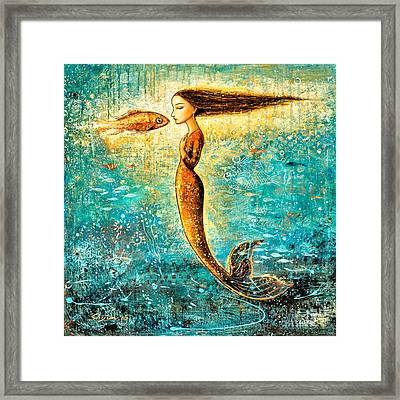 Mystic Mermaid Iv Framed Print