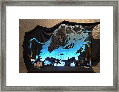 Mystic Mermaid Framed Print