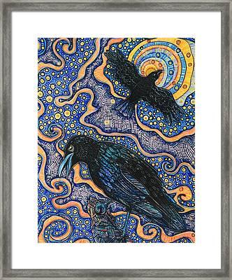 Mystic Messenger  Framed Print by Jessica Ritenour