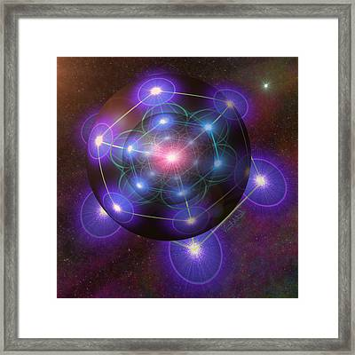 Mystical Metatron Framed Print