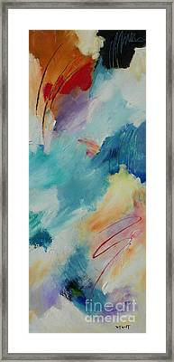 Mystic Mood 001 Framed Print by Donna Frost