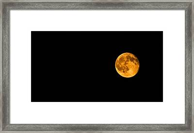 Framed Print featuring the photograph Mystic Moon by Elsa Marie Santoro