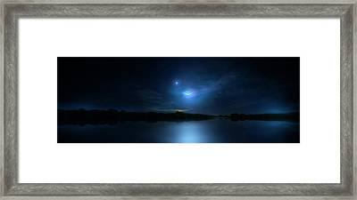 Mystic Moon Framed Print