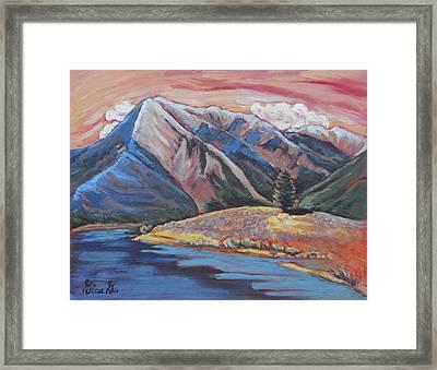 Mystic Mount Elbert Framed Print