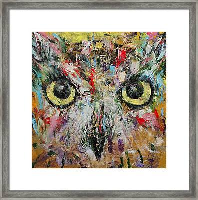 Mystic Owl Framed Print