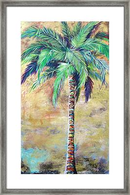 Mystic Palm Framed Print