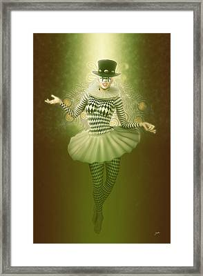 Mystic Pierrette Framed Print by Joaquin Abella