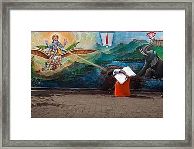 Mystic Ray Framed Print