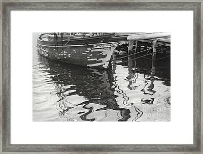 Mystic Reflections Framed Print by Andrea Simon