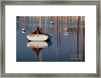 Mystic River Framed Print by Susan Cole Kelly