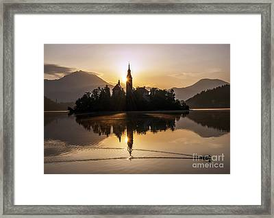 Mystic Sunrise Framed Print