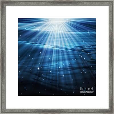 Mystic Waters Framed Print