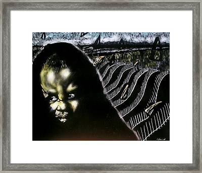 Mystic Waves Framed Print by Chester Elmore