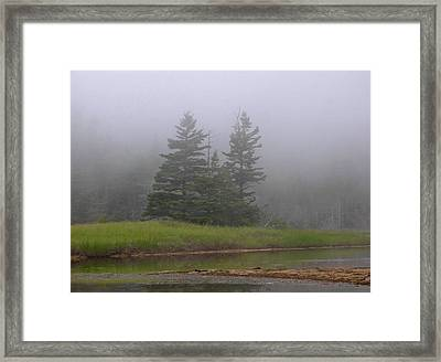 Mystical Acadia National Park Framed Print by Juergen Roth