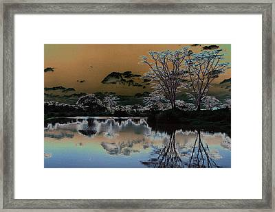 Mystical Africa Framed Print