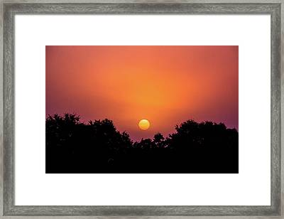 Framed Print featuring the photograph Mystical And Dramatic by Shelby Young