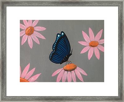 Mystical Butterfly Framed Print