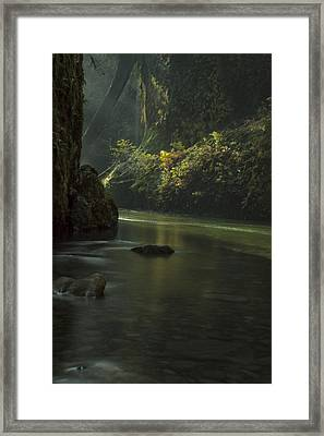 Mystical Canyon Framed Print