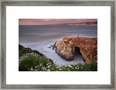Mystical Cave Framed Print