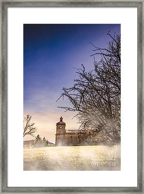 Mystical Church Framed Print