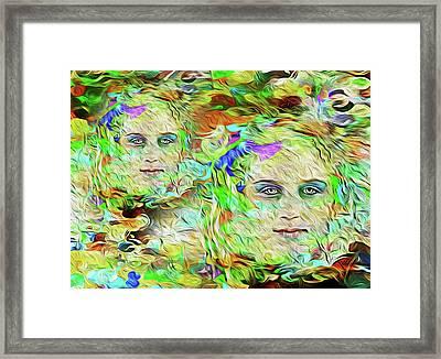 Mystical Eyes Framed Print