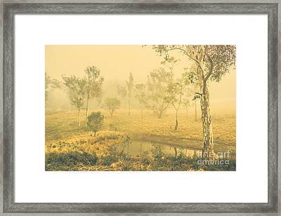 Mystical Lake Framed Print by Jorgo Photography - Wall Art Gallery
