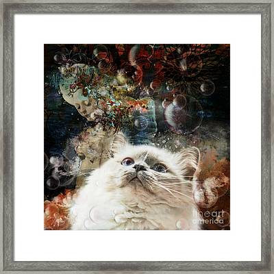 Mystical  Framed Print by Monique Hierck