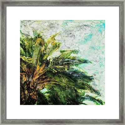 Mystical Palm Framed Print by Paul Tokarski