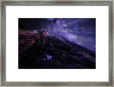 Mystical Pemaquid Framed Print by Wade Aiken