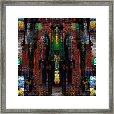 Mystical Place Framed Print by Ilona Burchard
