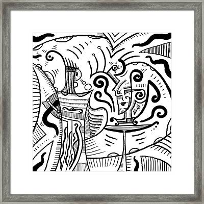 Mystical Powers - Surrealism Framed Print