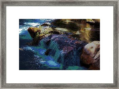 Mystical Springs Framed Print by DigiArt Diaries by Vicky B Fuller
