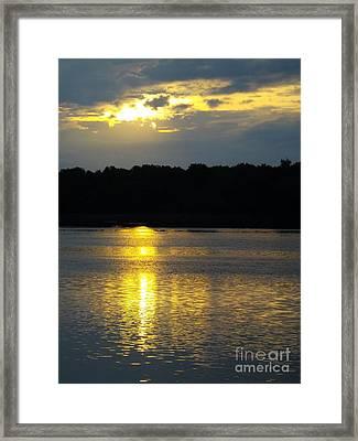 Mystical Sunrise Framed Print by Robyn King