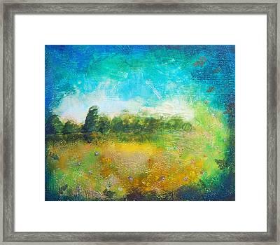 Mystical Trees Framed Print by Joya Paul