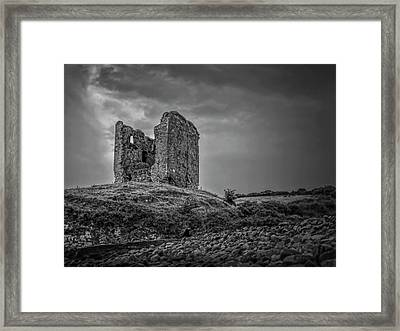 Myth Is Born A Bw Framed Print by Leif Sohlman