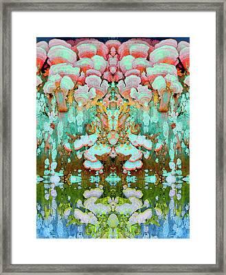 Mythic Throne Framed Print