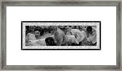 Mythical Fish Framed Print