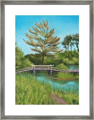 Mytoi Bridge Framed Print