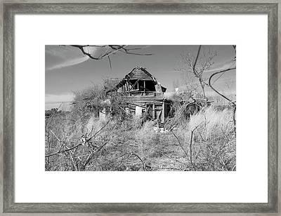 N C Ruins 2 Framed Print