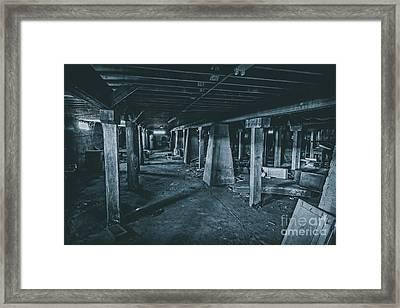 N I G H T M A R E Framed Print by Charles Dobbs