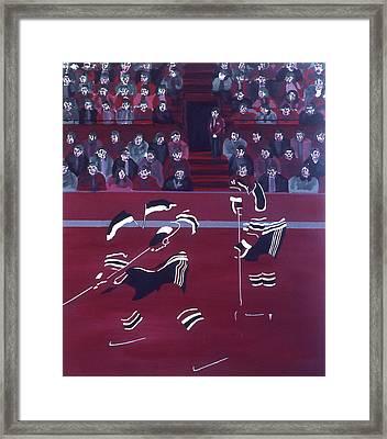 N J D Framed Print by Ken Yackel