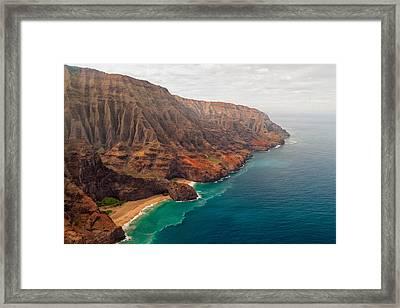 Na Pali Coast 3 Framed Print by Brian Harig