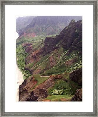 Na Pali Coast Framed Print by Amy Fose
