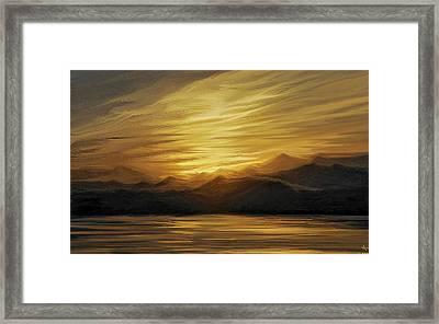 Naama Bay, Egypt Framed Print